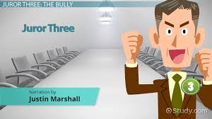 juror in angry men character analysis video lesson  juror 3 in 12 angry men character analysis video lesson transcript com