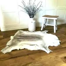 large cowhide rug dimension extra
