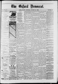 The Oxford Democrat : Vol. 50. No.44 - October 30, 1883