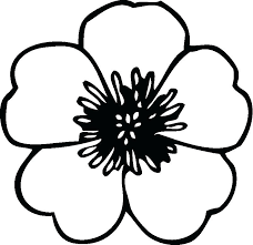 Easy Coloring Pages Of Flowers Lapavoni