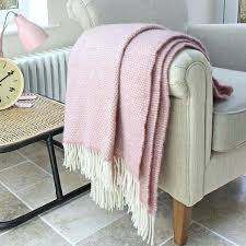 blush colored throw blanket dusty pink inspiring home ideas 2