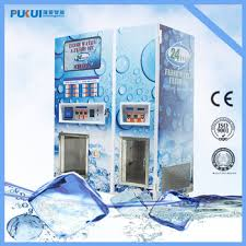 Commercial Ice Vending Machine Adorable Automatic Making Ice Reverse Osmosis Pure Vending Machineice
