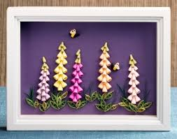Paper Quilling Flower Frames Quilled Flowers An Interview With Alli Bartkowski Lark Crafts