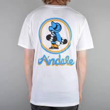 skateboard bearings andale. andale og skate t-shirt - white skateboard bearings