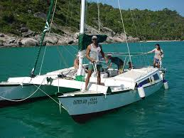 we recommend you follow the tried and trusted wharram process to ensure the boat you build is both the right type of boat for your needs and also one that
