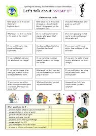 let's talk about What If | Spanish classroom ideas | Pinterest ...