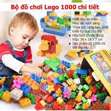 ĐỒ CHƠI CHO BÉ] - BỘ ĐỒ CHƠI LẮP RÁP XẾP HÌNH LEGO 1000 CHI TIẾT - BỘ ĐỒ  CHƠI LẮP RÁP CHO BÉ GIÚP PHÁT HUIY TRÍ TƯỞNG TƯỢNG THÔNG