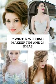 7 winter wedding makeup tips and 24 ideas cover