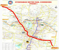 Metro Rail Fare Chart Hyderabad Metro Rail Route Map Timings Ticket Price Fares Hmrl