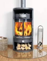 Dan Skan Rondo N Half Round Wood Burning Stove