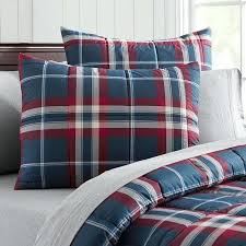 red and blue comforter plaid bedding designs yellow