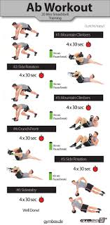 Core Exercises Health And Fitness Training