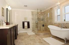 clawfoot tub and shower combo. relaxing bathroom remodel ideas with clawfoot tub design and inspiring marble sink countertop combination also glass shower combo c