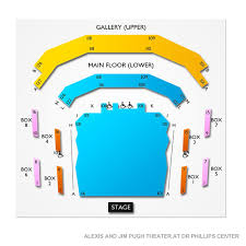 Dr Phillips Seating Chart Bonnie And Clyde Orlando Tickets 9 8 2019 2 30 Pm Vivid