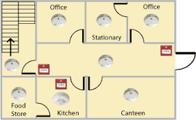 fire alarm systems categories fire alarm cad drawings at Fire Alarm Layout Diagram