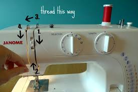 Sewing Machine How To Thread