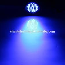 baisun brand led par light 54 1 5w rgb par can light with dmx512 master