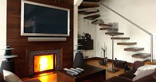 mounting a tv over a fireplace install tv brick fireplace