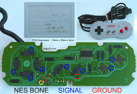 joystick controller pcb and wiring nintendo 64 nus 005