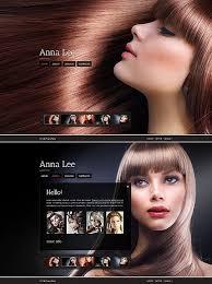 Hair Saloon Websites Hair Salon Website Template Web Site Website Template Website