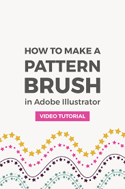 Pattern Brush Illustrator