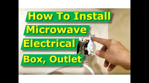 diy how to install a microwave oven electrical outlet box in diy how to install a microwave oven electrical outlet box in cabinet