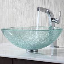 appealing crafted glass bathroom sink and clear glass vessel sink and glass vanity basins australia glass