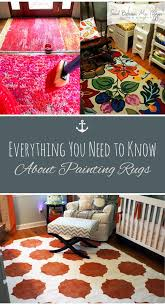 everything you need to know about painting rugs how to paint a rug painted