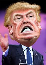 Image result for trump caricature
