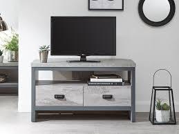 2 drawer corner tv cabinet flat packed