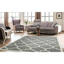 plush area rugs for living room. Gray Rugs For Living Room Contemporary Trellis 8 Ft X Area Rug Plush