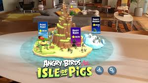Angry Birds AR: Isle of Pigs – released today in the App Store