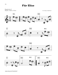 Our meet the composer graded piano solos are written to give students the best chance for success while maintaining the integrity of the original work. Sheet Music Fur Elise Easy