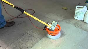 Kitchen Floor Scrubber Redneck Floor Cleaning Machine Youtube