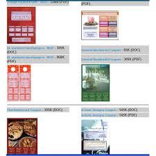 coupon templates word 31 free printable coupon templates