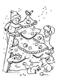 Kleurplaat Kerstbomen 4569 Kleurplaten