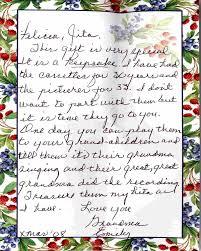 letter from grandma emily ortiz y garduno de lujan 2008