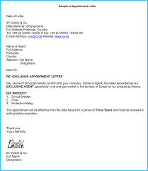 Business Appointment Letter - 9+ Samples, Examples & Writing Tips