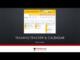 Tracker Training Training Tracker And Calendar In Excel Quick Demo