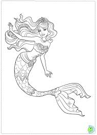 Small Picture New Barbie Mermaid Coloring Pages 93 About Remodel Seasonal