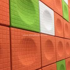 3d textured wall panels 600 x 600 x 65