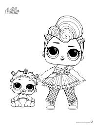 New Lol Coloring Pages Collectionintable Sheet Stunning Dolls Free