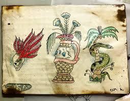 Handmade tattoo art by Elsa Harmon #1   111 Arts Gallery