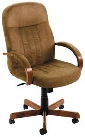 cloth office chairs. Microfiber Fabric Office Chair With Wood Finish [B8386] -1 Cloth Chairs B