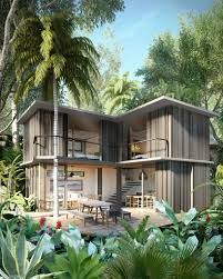 Brazilian Houses Triptyque Architectures Tempo Villas To Be Integrated Into