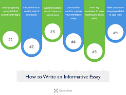 how to write an informative essay essayhub sample informative essay topics
