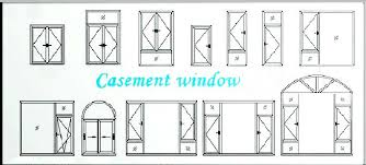 window drawing. aluminium casement window drawing/aluminum windows drawing