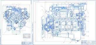 Курсовые и дипломные работы автомобили расчет устройство  Курсовой проект Исследование работы четырехтактного шестицилиндрового дизельного двигателя КАМАЗ 740 10