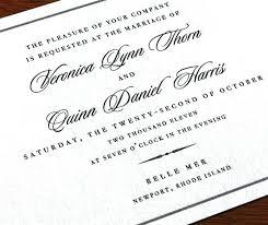 Wedding Invitation Format Also Wedding Invitation Wording Examples