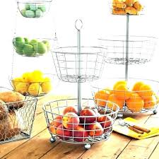 2 tier fruit holder for kitchen basket tiered stand stuff plus two f